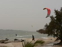 Kitesurf fleuve Sénégal et hébergement en maison d'hôtes