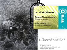 """art & culture in guesthouse """"au fil du fleuve"""", Saint-louis du Senegal"""